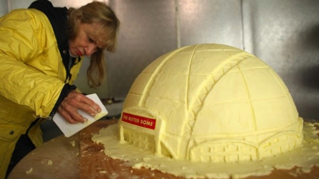 Finally, Someone Built The New Sonics Arena Out Of 110 Pounds Of Butter