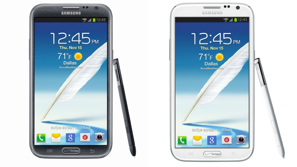 Click here to read Ugh, Verizon Plastered Its Logo on the Samsung Galaxy Note II Home Button