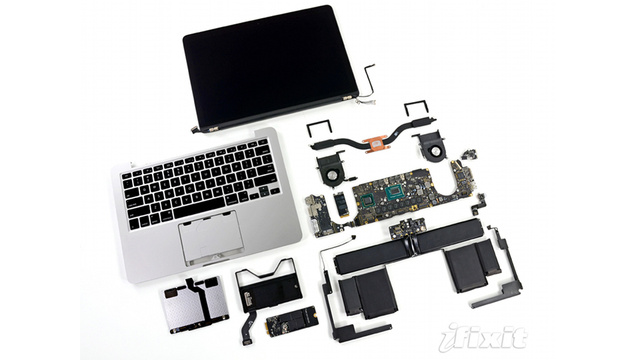 13-Inch Retina MacBook Pro Teardown: At Least the Battery Comes Out!