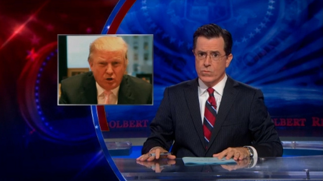 ICYMI: Stephen Colbert Makes Donald Trump an Offer: $1 Million to 'Dip My Balls in Your Mouth'