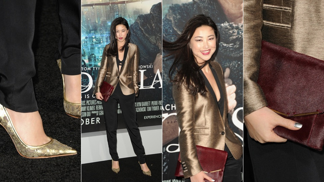 Trendy Trousers and Ridiculously Beautiful Skin at the Cloud Atlas Premiere