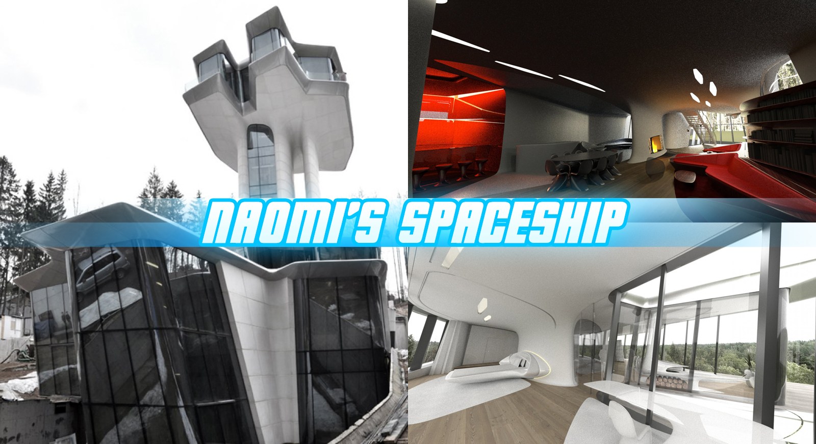Inside Naomi Campbell 39 S New Spaceship House