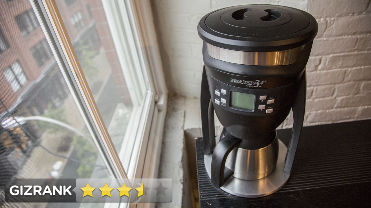 Click here to read Brazen Coffee Brewer: Maybe the Best Coffee Dripped From a Machine
