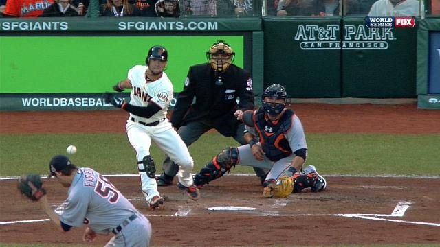 Tigers Pitcher Doug Fister Took A Line Drive Straight To The He…