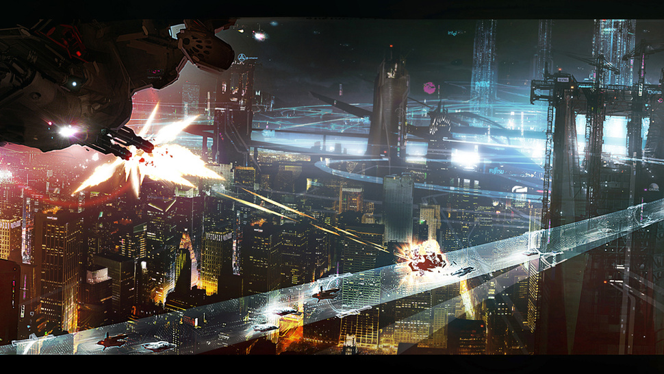 An Exclusive Look at the Stunning Concept Art Behind <em>Cloud Atlas</em>' Future Seoul