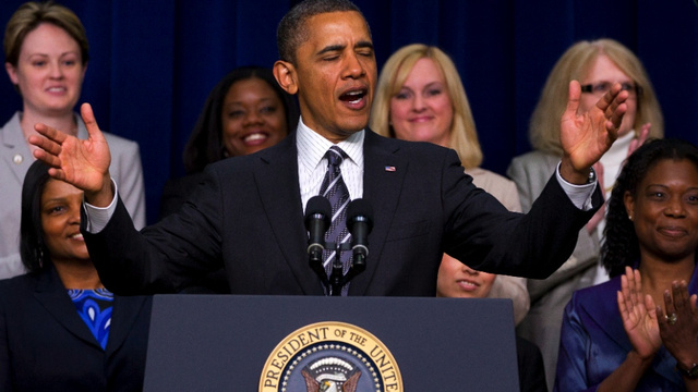 Obama Wants You to Vote Like Your Vagina Depends On It