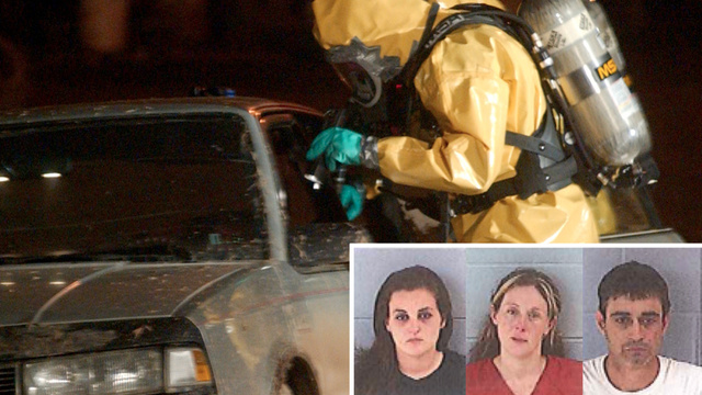 These Floridians Were Arrested In A Rolling Meth Lab