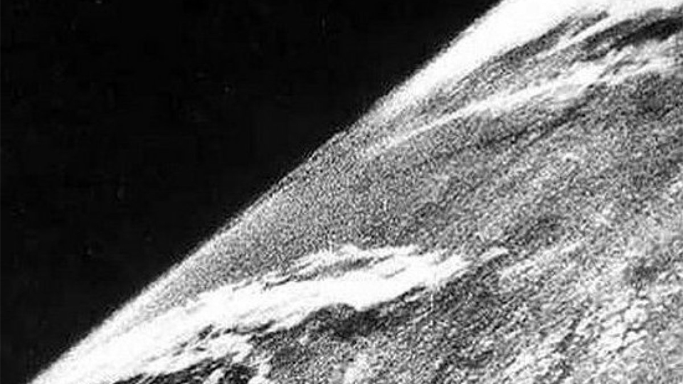 This Is The First Picture Ever Taken From Space