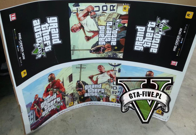 Supposed GTA V Posters Promise Spring 2013 Release Date