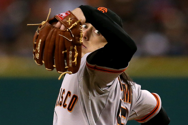 In A Postseason Of Redefined Roles, Tim Lincecum Is Flipping The Script