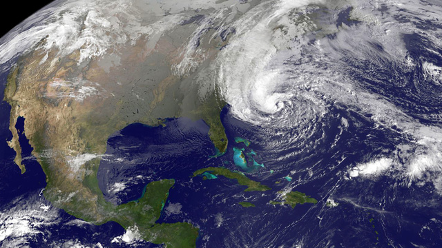This Earth Photo Just Published by NASA Shows Sandy's Massive Size