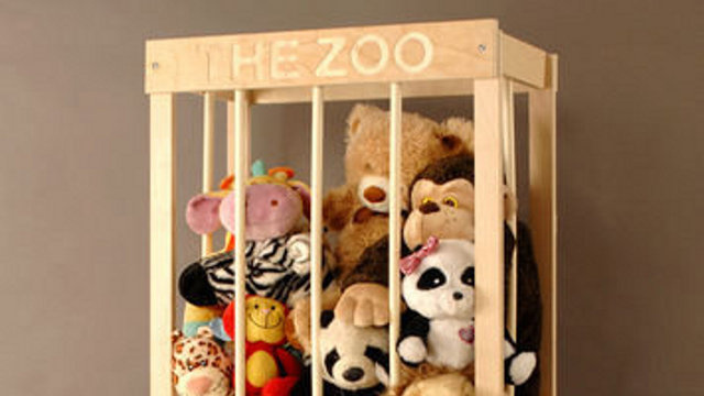 Build A Wooden Cage To Corral Stuffed Animals | Lifehacker ...