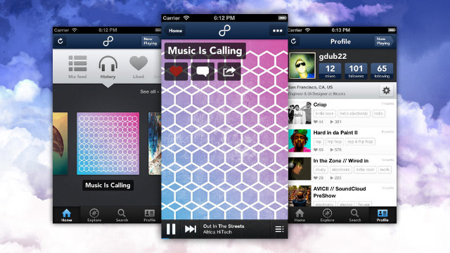 8Tracks for iPhone Makes Finding New Music and User-Created Mixes Easy
