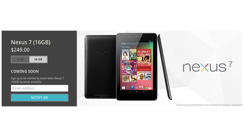 Both Nexus 7 Models Are Out of Stock Ahead of Cheaper Replacements