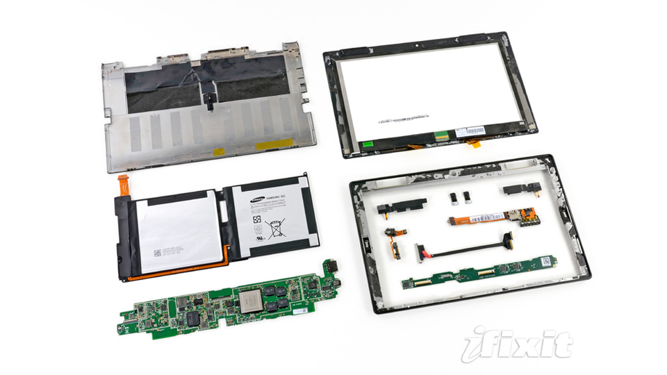 Click here to read Microsoft Surface Teardown: A Great Big Puzzle of Guts