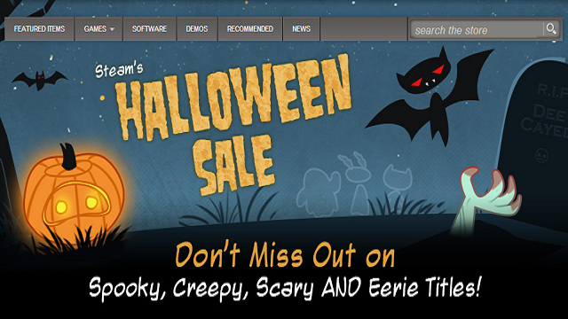 Steam Is Having A Halloween Sale