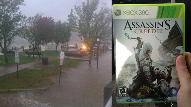 Click here to read Store Sells <em>Assassin's Creed III</em> Early to Beat Hurricane