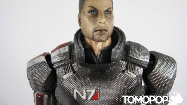 Mass Effect Toy Turns Commander Shepard Into Sparkly Burns Victim