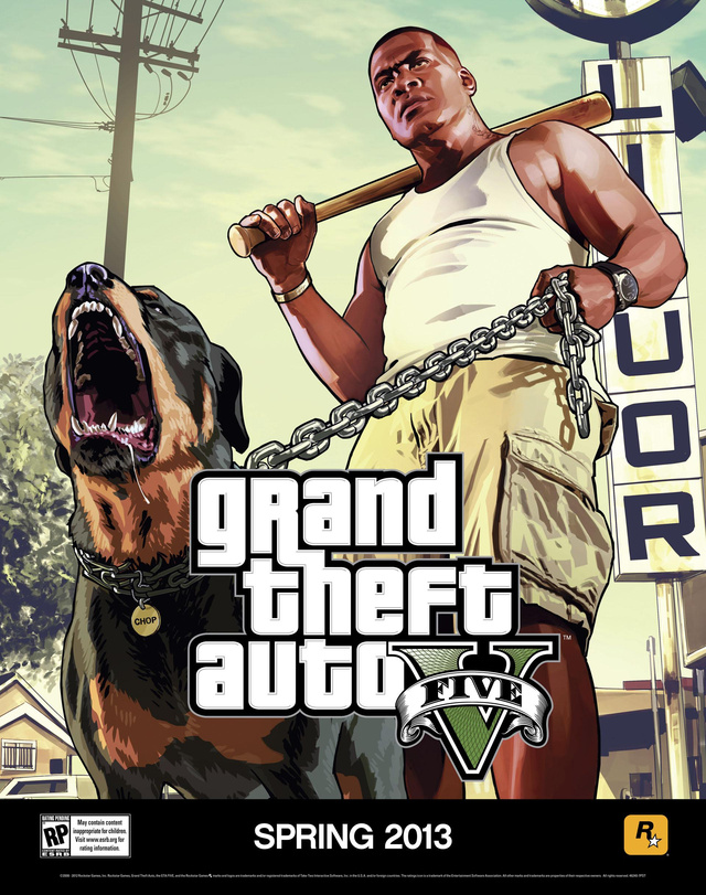 Here, Two Enormous GTA V Posters