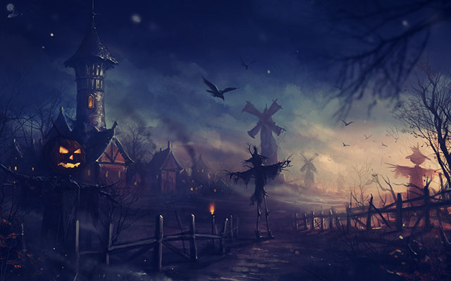 Spook Your Desktop with These Halloween Wallpapers