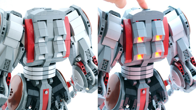 This Is the Greatest Lego Mecha I've Ever Seen