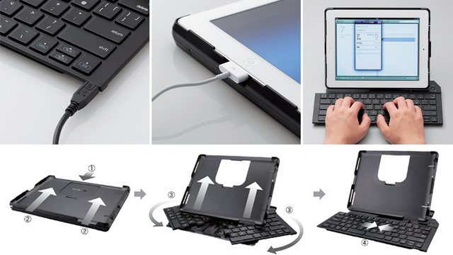 This Normal-Sized iPad Case Expands Into a Full-Sized Keyboard?
