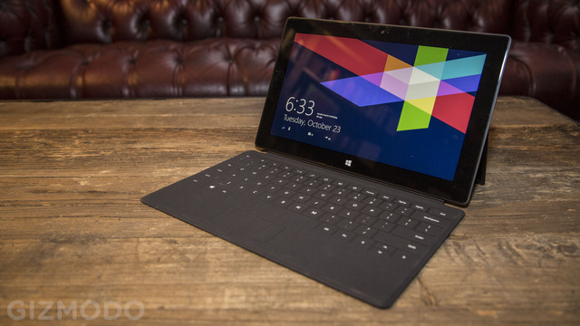 Windows RT Takes Up Half of the 32GB Microsoft Surface's Storage