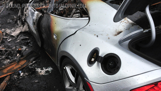 Three Toyota Prius Hybrids Also Burned In Fisker Karma Port Fire