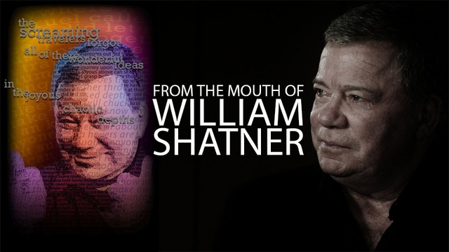 Last Friday, William Shatner Told Me to Play With Myself