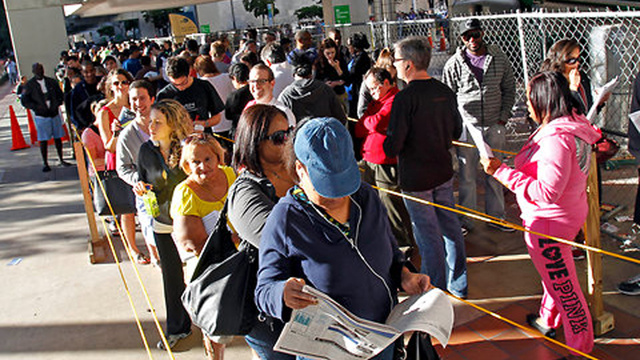 Florida Voting Lines Somehow Longer and More Hellish Than Actual Life in Florida