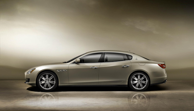 The 2013 Maserati Quattroporte: This Is It
