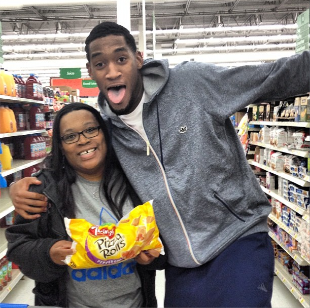 Perry Jones III Loves Pizza Rolls