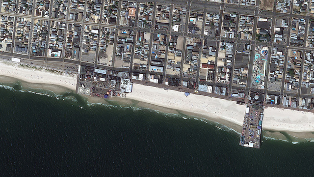 Hurricane Sandy: The Craziest Before and After Shots