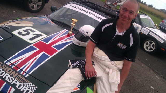 This Former British Soldier Treats PTSD With Car Racing