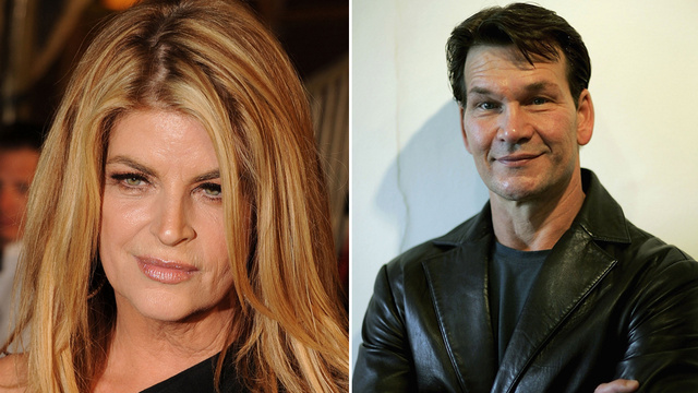 Kirstie Alley Reveals She and Patrick Swayze Had an Affair...of The Heart...While Married to Other People