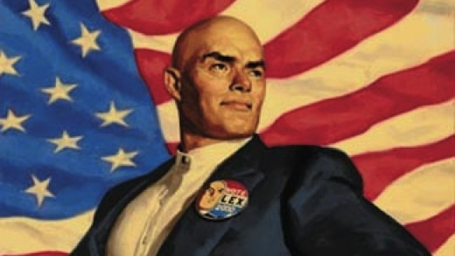 Don't Blame Us, We Voted for Lex Luthor