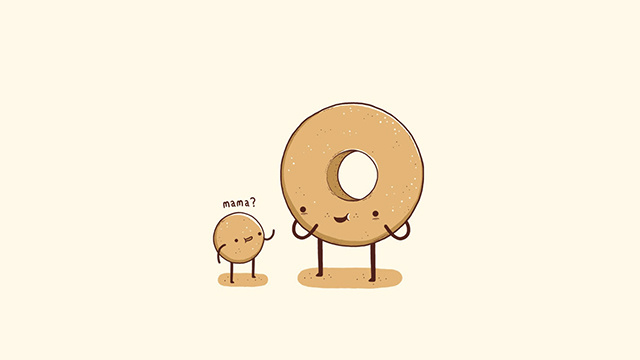 Android Donut Wallpaper Baby Donut Hole