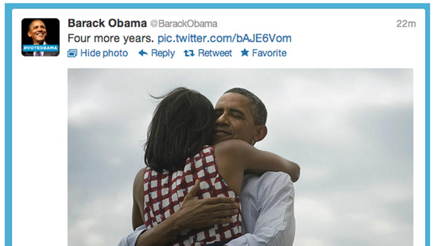 Four More Years: The Most Popular Tweet of All Time