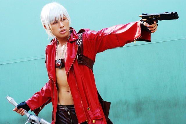 Devil May Cry Over Your Wonderful Abs and Big Guns