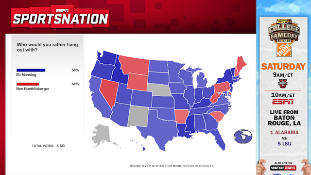 The Bummer About Eli Manning, In Two Maps