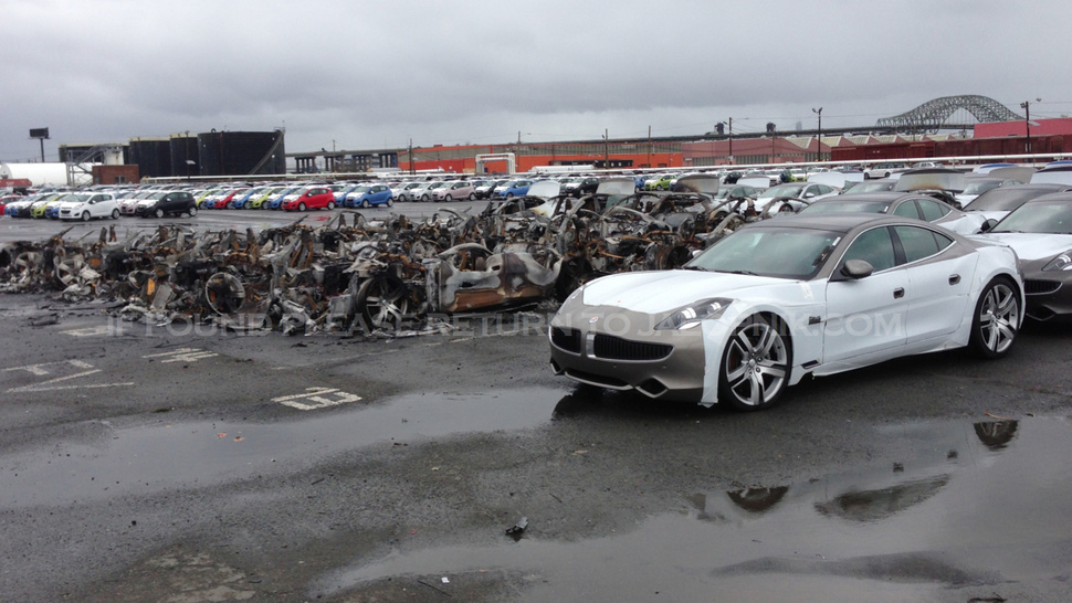 Fisker Lost $30 Million Worth Of Cars In Hurricane Sandy