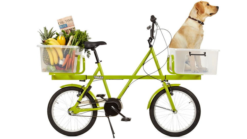 Bikes With Basket Truck of Bikes Laughs at
