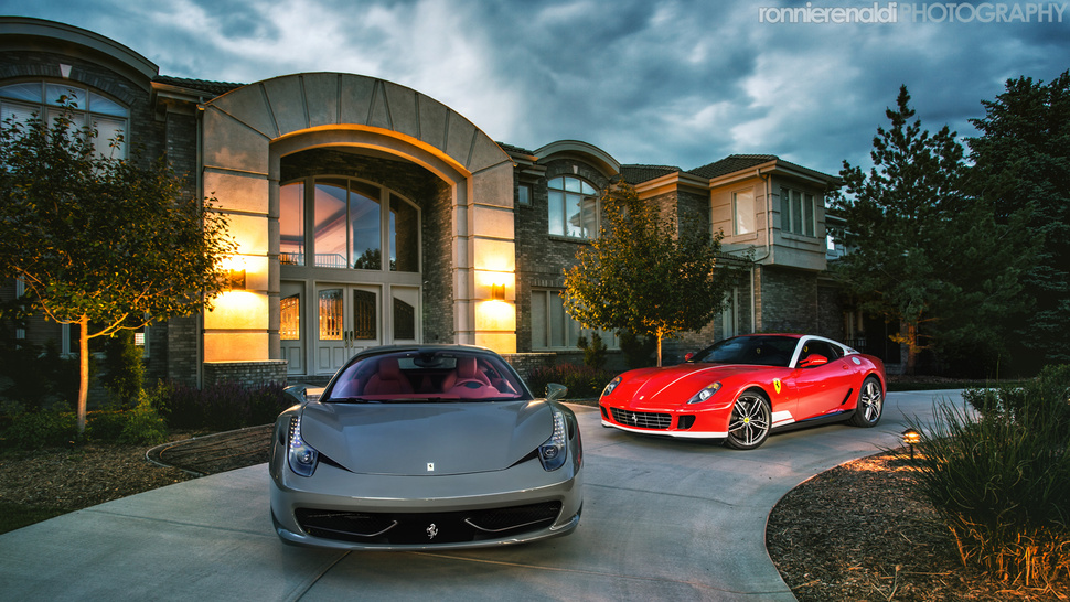 Two Rare Ferraris And 1,174 Horsepower