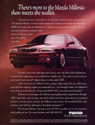 Forgotten Cars: The Mazda Millenia And Mazda's Other Other Engine