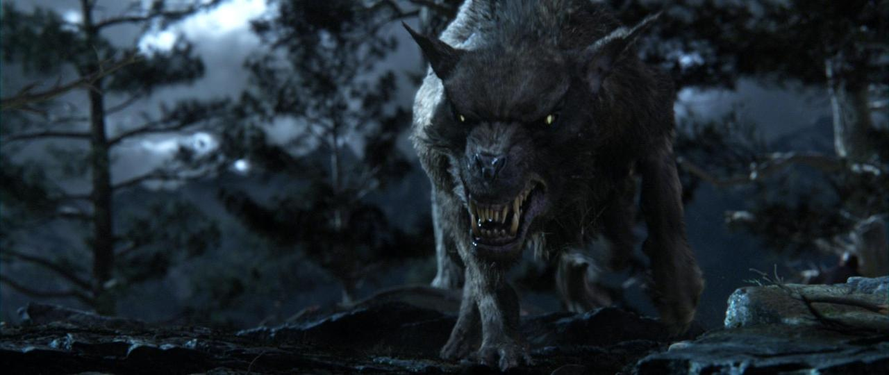 The Hobbit photos of wargs