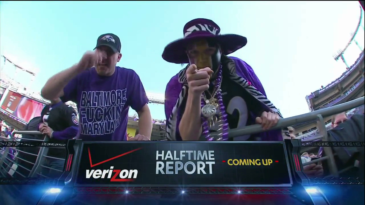 "Yep, That's A ""Baltimore Fuckin' Maryland"" T-Shirt On CBS"