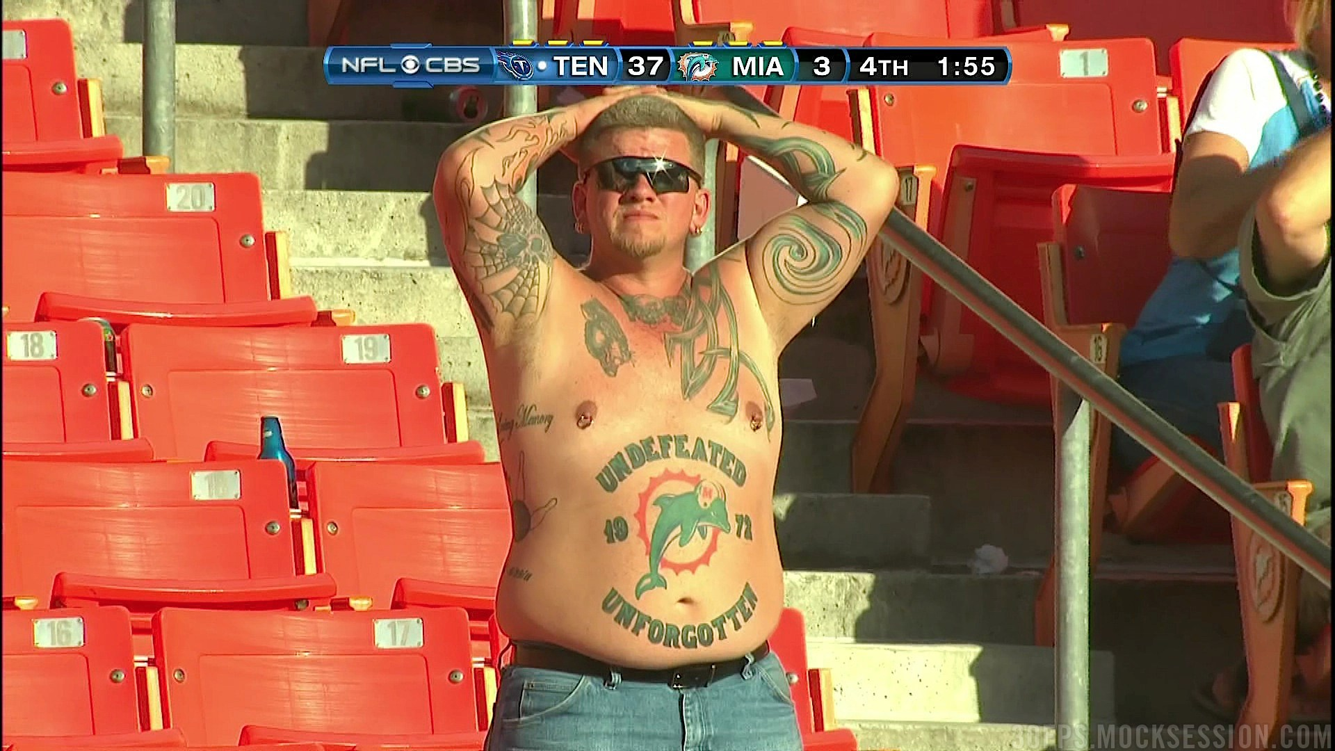 Go Home, Everybody: We Found The Most Ridiculous Fan In The Wor…