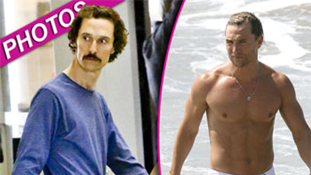 Matthew McConaughey's Personal Hell: Forced to Keep Shirt On to Prepare For Role