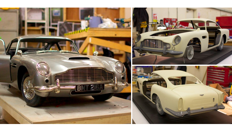 Skyfall Special Effects Team Turns to 3D Printing for Aston Martin