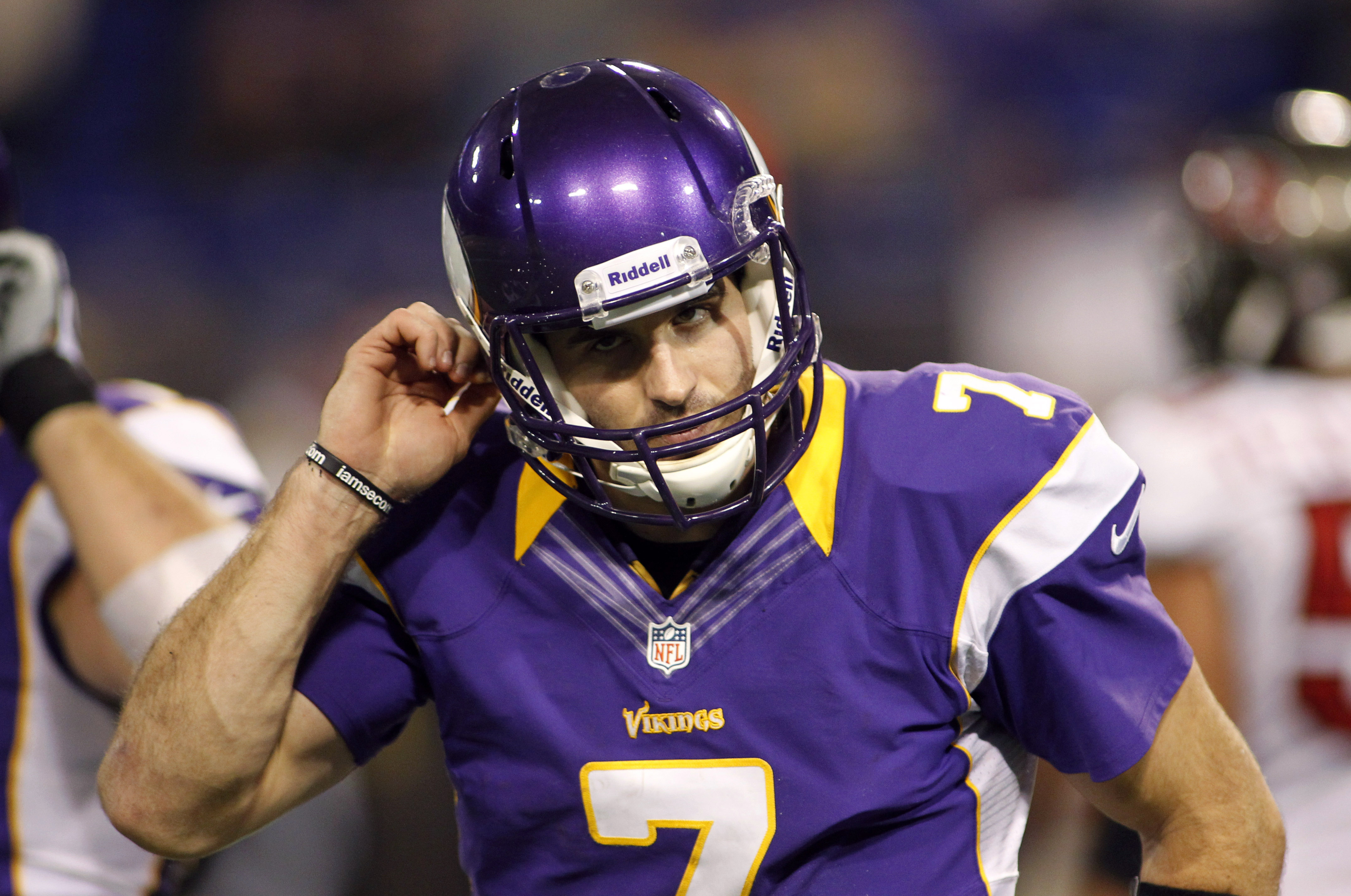 Craig Johnson's move to the sidelines helps Christian Ponder re…